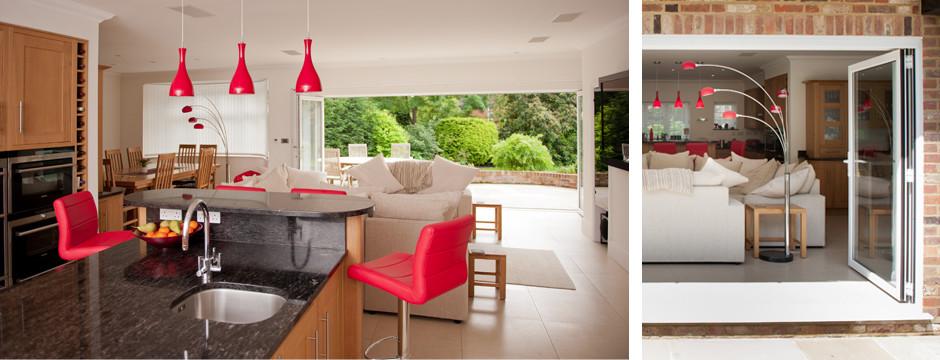 Red Kitchen Room